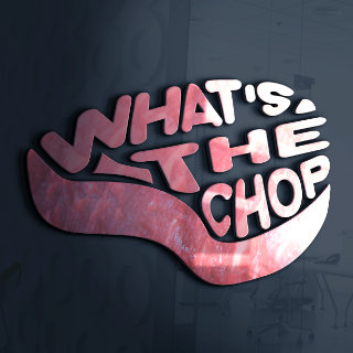 company logo we did for whats the chop podcast